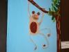 Cuadros pintados por alumnos con capacidades especiales de Hilarte