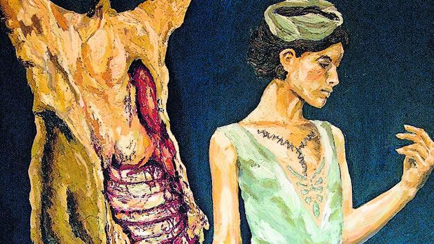 "Pintura ""Encarnada"" por René Bohorquez"