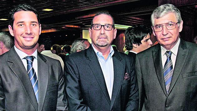 Jorge Romero, Diogenes Villacis y Antonio Marquez Firminio