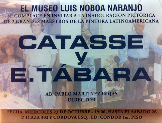 art exhibition in alvaro noboa museum