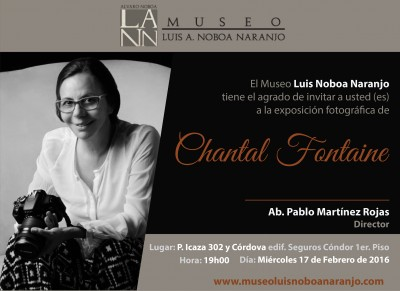 Invitacion Chantal Fontaine