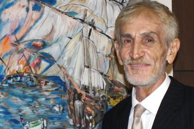 Artist Francisco De La Paz Barbotó.
